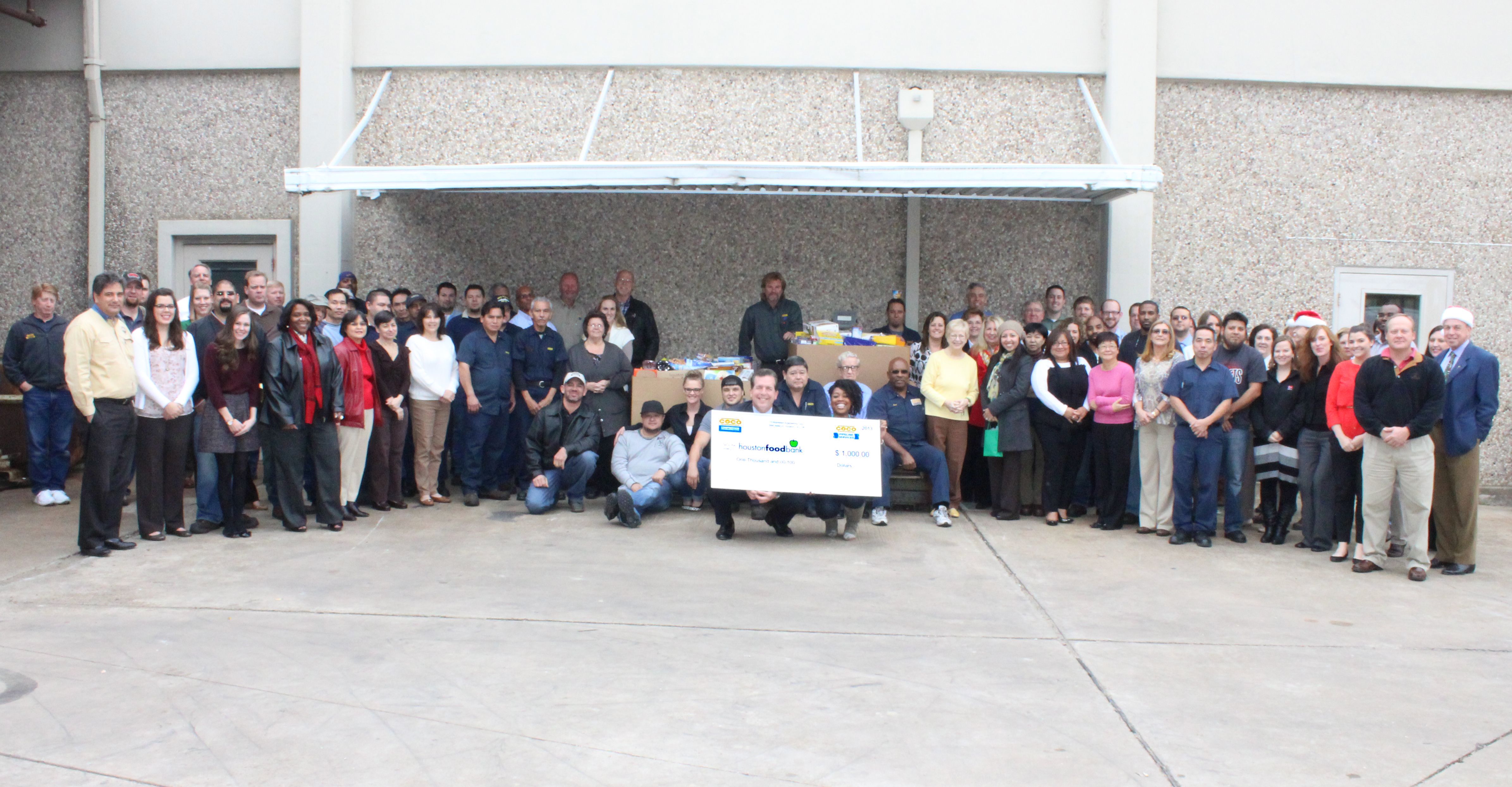Group Photo with Check