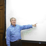 Randy teaching a course on Combustion Characteristics